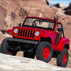 Other one of my favorite 2016 Jeep concepts is the JK-based Shortcut (they should have called it JK5, driving it gives it the feel of an old CJ7: lots of fresh air, great view over the hood of the driver side tire, and super tight turning radius).
